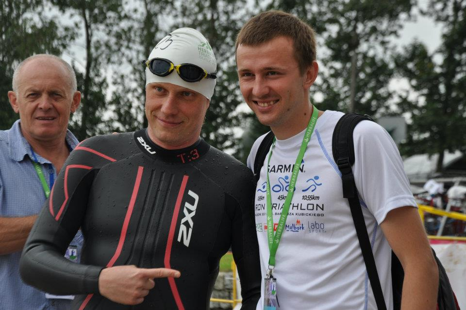 Garmin Iron Triathlon - Sidney Polak i Filip Szołowski