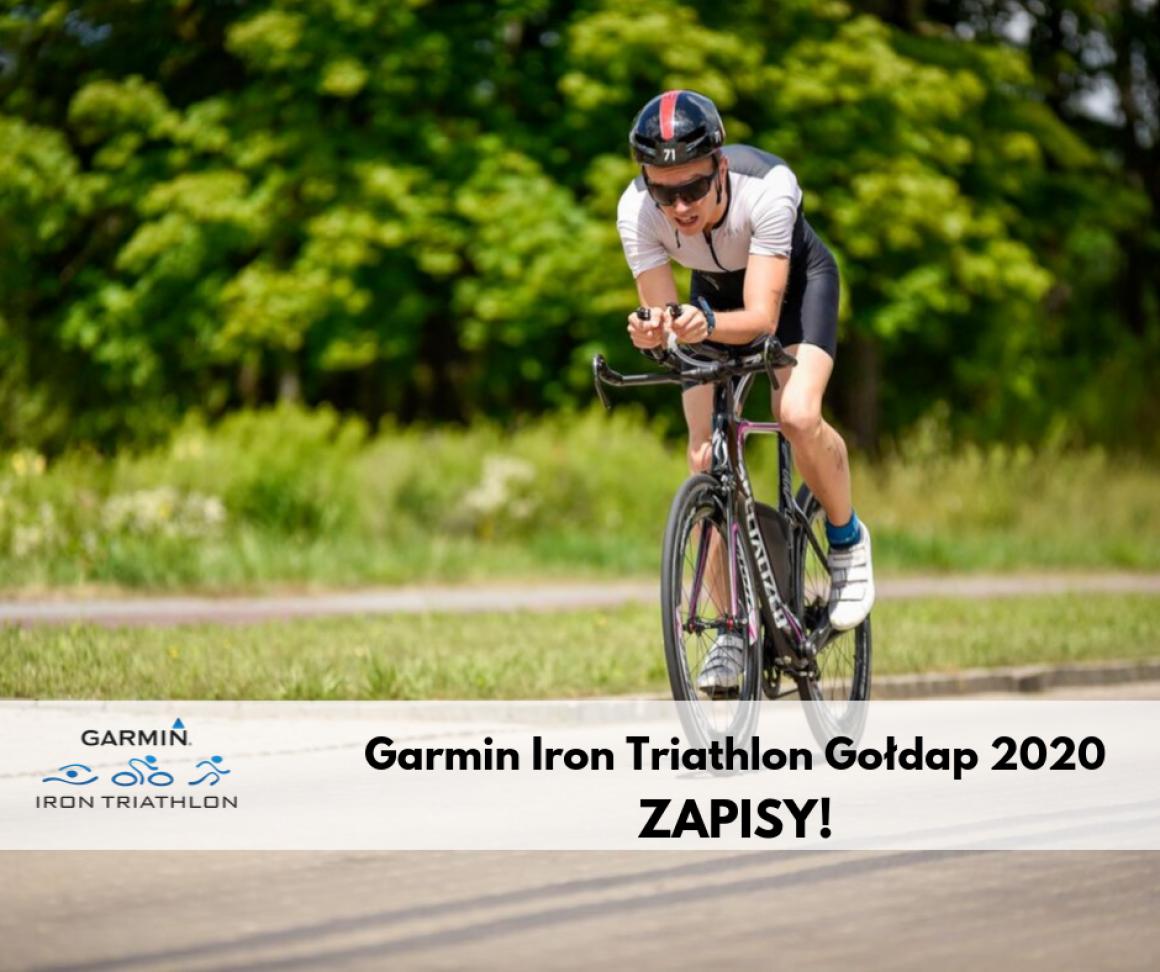 Garmin Iron Triathlon Gołdap 2020, zapisy triahlon